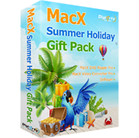 MacX Summer Holiday Gift Pack for Windows discounted